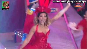 Sónia Araujo sensual no Circo da Rtp