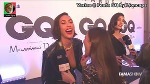 Debora Monteiro sensual na festa GQ