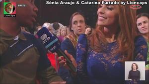 Catarina Furtado sensual no Natal dos Hospitais 2019