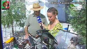 Diana Taveira sensual na Rtp