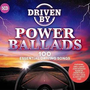 VA - Driven By - Power Ballads (5CD) (2018)
