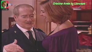 Cristina Areia sensual na serie Camilo o Presidente