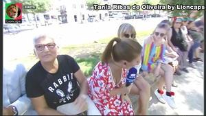 Tania Ribas de Oliveira sensual na Rtp