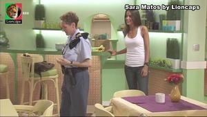 Sara Matos sensual em vários trabalhos