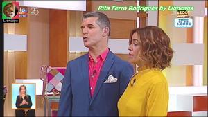 Rita Ferro Rodrigues sensual na Sic