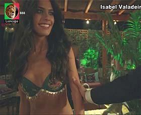 Isabel Valadeiros sensual na novela Valor da Vida