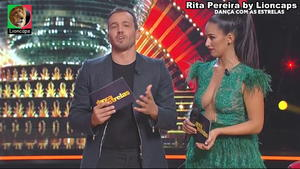 Rita Pereira sensual no Dança com estrelas