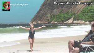 Regiane Alves sensual na novela O Tempo não pára