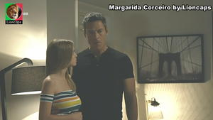 Margarida Corceiro sensual na novela A prisioneira